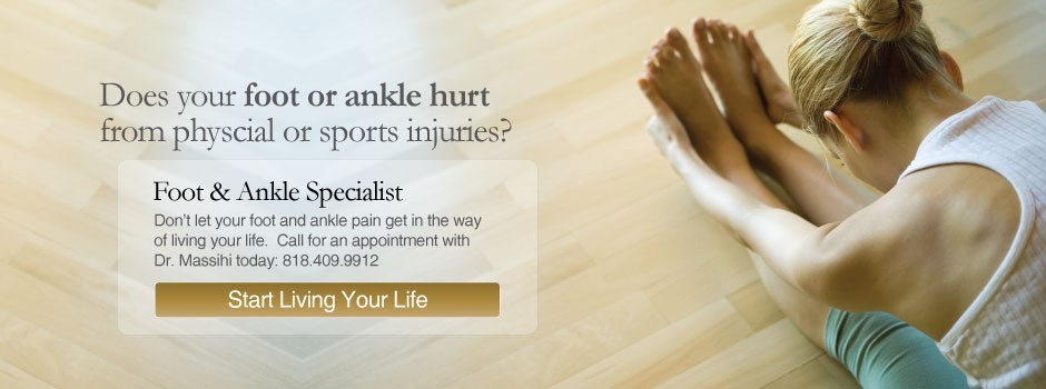 Specialist in Foot and Ankle Injuries Glendale and Burbank